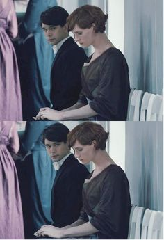 Although his role is small, Ben is utterly memorable in The Danish Girl. (Here with the brilliant Eddie Redmayne)