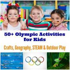 Explore Rio and the 2016 Olympic Games with these great crafts, STEAM ideas & geography activities for kids!