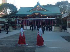 Hie Jinja (Hie Shrine)  #Japan #Tokyo #Shrine