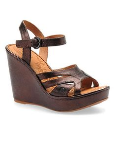"""Born Pascha wedge.  For wedding shoe """"practice"""" this summer."""