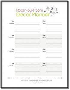 Home Wizards - Christmas Holiday Planner Checklists