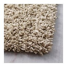 IKEA - HAMPEN, Rug, high pile, 133x195 cm, , Durable, stain resistant and easy to care for since the rug is made of synthetic fibres.The high pile makes it easy to join several rugs, without a visible seam.