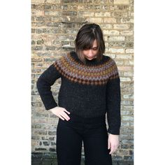 Ravelry: Treysta by Jennifer Steingass Ravelry, Men Sweater, Turtle Neck, Pullover, Pattern, Sweaters, Fashion, Moda, Fashion Styles