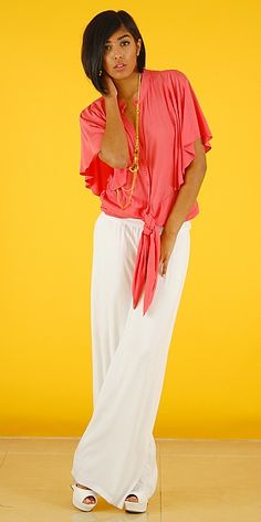 Soft Summer Outfit --- I wish I could wear white but after I put it on dirt would find me if I stand still.  Beautiful!