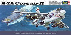 Revell A-7A Corsair II '69