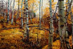 'Autumn Aspens' by Jeremy Winborg