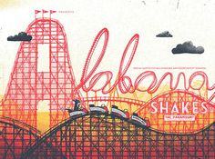 awesome indie music band posters | Alabama Shakes | 40 Awesome Concert Posters - Yahoo! Music