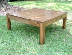 Take A Peak At A Few New Coffee Tables Solid Cypress Capitol Coffee