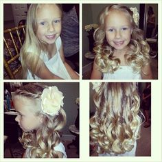 Flower Girl Hair. hair doo for Mac