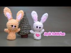 Crochet Along Amigurumi Bunny - Crochet Pattern Tutorial