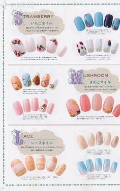 Nail art mori style