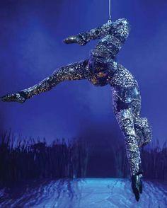Cirque du Soleil CrystalMan totem Cirque du Soleil Totem at the Royal Albert Hall