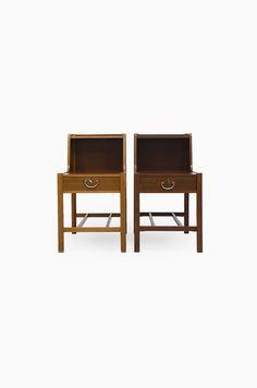 Bedside tables designed by David Rosén at Studio Schalling