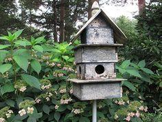 I do love a rustic bird house