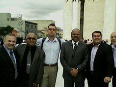 Com a equipe do PRB 10 no Encontro Nacional de Ministros Evangélicos.