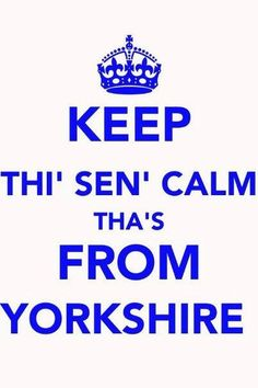 Proud to be a Yorkshire lass