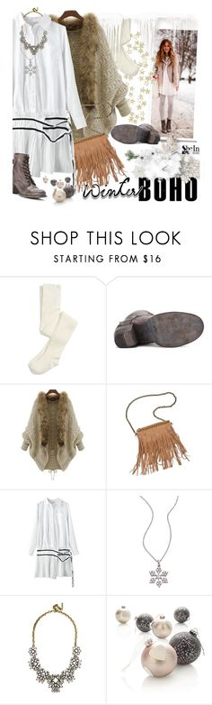 """""""Winter Boho"""" by ansev ❤ liked on Polyvore featuring Patchington, Lafonn, BaubleBar and Herz"""