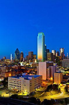 Skyline, Dallas, Texas, United States of America, North America