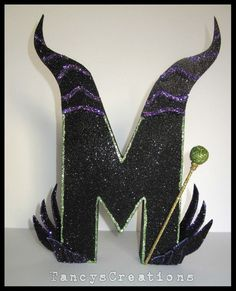 One Disney Maleficent inspired paper mache by TancysCreations, $22.00