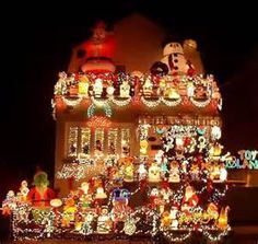 gaudy christmas lights yahoo image search results tacky christmas christmas house lights - Ugly Christmas Decorations