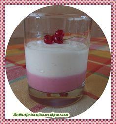 Johannisbeer-Quark-Dessert