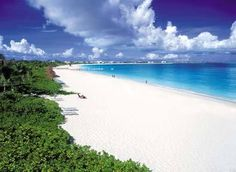 Grace Bay Beach in the Turks and Caicos.  My favorite beach, anywhere.  Baby powder sand.