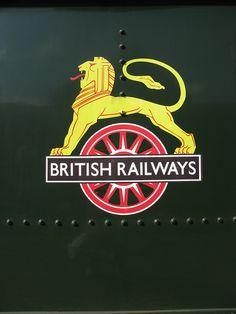 """British Railways """"Lion & Wheel""""."""