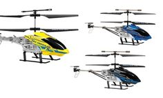 Groupon - Nano Hercules Unbreakable 3.5-Channel Radio-Controlled Helicopter in [missing {{location}} value]. Groupon deal price: $24.99