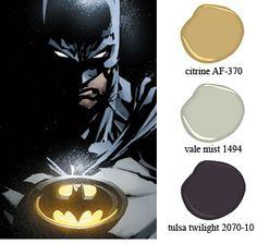 batman dark knight room colors. @Jess Hadassah