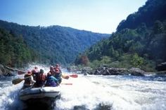 White water rafting WV - New River!