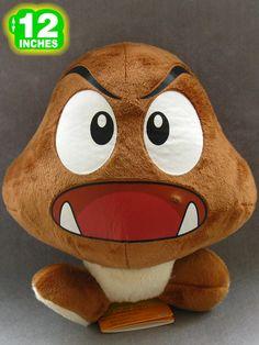 Super Mario Bros Goomba Plush Doll MLPL9016