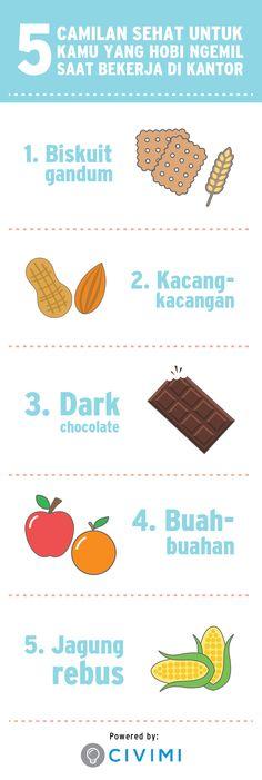 5 Jenis makanan yang tidak membuat kamu gemuk (Infographic)