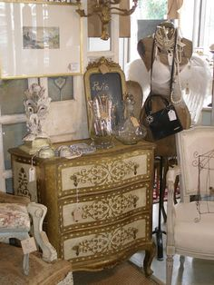 Italian chest by Belle Francaise Interiors