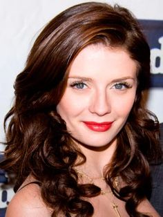 "Mischa Barton with Mahogany hair color as seen in ""Now Magazine"" - for natural mahogany hair color light-mountain-hair-color.com"