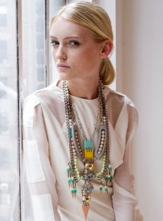 Another amazing bohemian style necklace