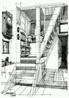 Interior FreeHand Drawing