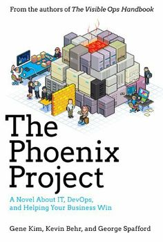 The Phoenix Project: A Novel About IT, DevOps, and Helping Your Business Win by Gene Kim, http://www.amazon.com/dp/0988262592/ref=cm_sw_r_pi_dp_UJzDrb04BD94D