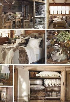 Chalet Design, Cabin Interiors, Red Interiors, Ralph Lauren House, Dining Room Bench, Rental Decorating, Lodge Decor, Cabin Homes, Decor Interior Design