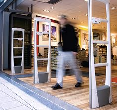 Afbeeldingsresultaat voor winkelbeveiliging poortjes