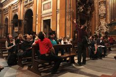 #students #church #onsite #class #beautiful #rome #italy #travel