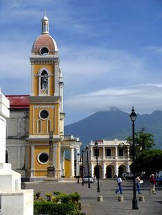Nicaragua. I spent a couple of months just down the street from this square.  Some of the most amazing times of my life!