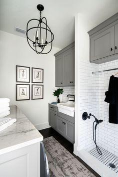 Mudroom Laundry Room, Laundry Room Remodel, Laundry Room Design, Mudrooms With Laundry, Laundry Room With Sink, Laundry Room Colors, Laundry Room Bathroom, Design Kitchen, Küchen Design