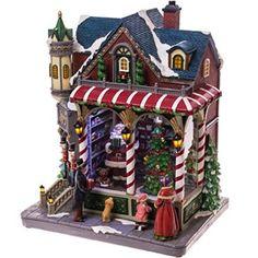 Musical Light-Up Santa's Toy Shop http://shop.crackerbarrel.com/Musical-Light-Up-Santas-Toy-Shop/dp/B012DEJ9SO