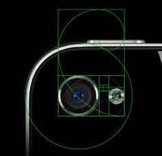 Apple has used the 'Golden Ratio' extensively in their design work and this blog shows just a small amount of that work