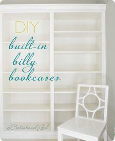 diy built in ikea billy bookcases  http://m.ikea.com/us/en/catalog/series/28102/