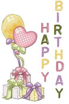 ツ Happy Birthday Art, Birthday Treats, Funny Birthday Cards, Birthday Greeting Cards, Birthday Quotes, Birthday Greetings, Birthday Celebration, Cute Drawings, Lisa Campbell