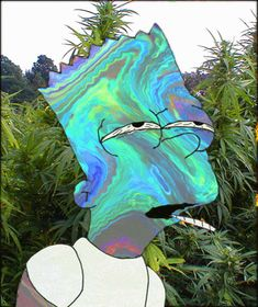 Bart Simpson // trippy