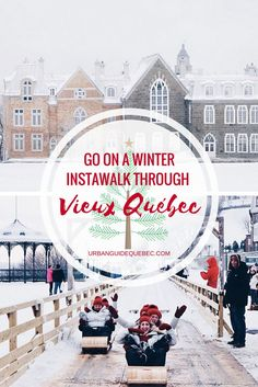Attention instagrammers headed to Québec City: This walk is for you!! #Québec #QuébecCity #Walk #Instagram #Guide #Travel #Roadtrip #Information #Adventure #Explore #Discover