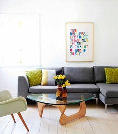 Hoy os presento otro clásico del diseño, una mesa de centro que nunca pasará de moda, la mesa Noguchi. Fue diseñada en 1944 por Isamu Noguchi, un escultor estadounidense de origen japonés, mientras...