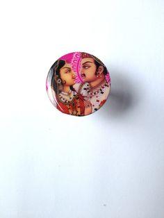 Bague création unique - couple indiens : Bague par miss-castafiore